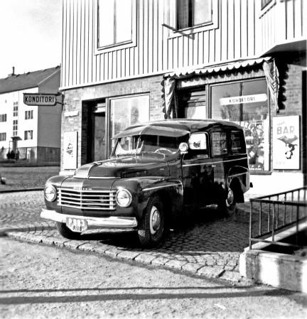 De Volvo 445 als bestelauto