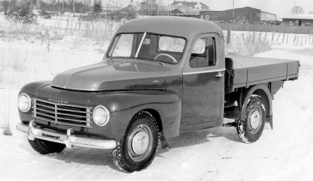 Pickup versie van de 445, gemaakt door Klippan