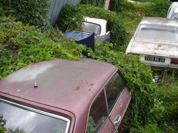 Autosloperij in de Dordogne