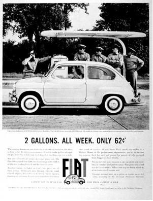 Echt waar! Fiats in Amerika… voor de vrouw!