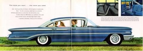 Zo moest je Amerikaan eruit zien, een 1960 Olds' ninety-eight