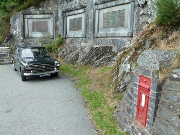 Morris 1300 Super de Luxe in Wales