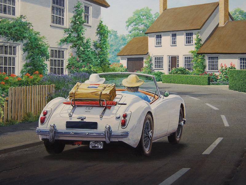 Bert Heemskerk - MGA painting