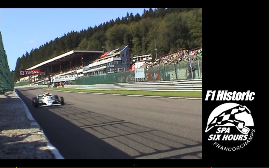 F1 Historic – Eau Rouge-express