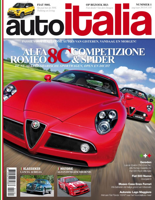 AutoItalia: Prachtig nieuw tijdschrift voor Italofielen