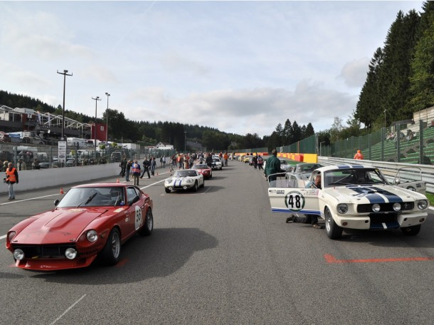 Spa Six Hours 2013 - Startveld
