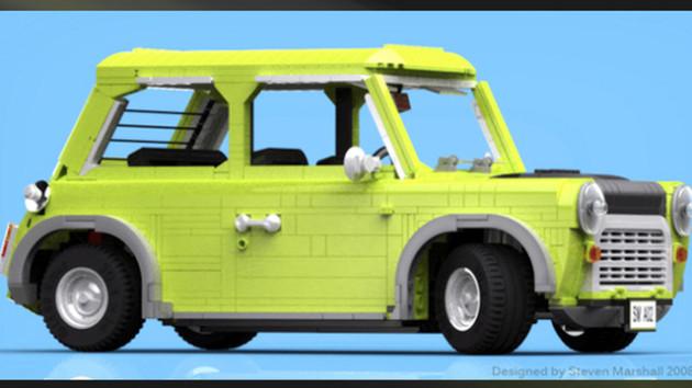 Lego Cusoo Mini Mr. Bean uitvoering