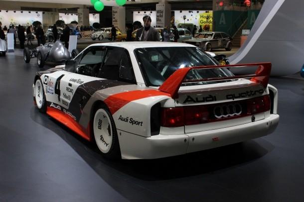 Audi Techno Classica 2014