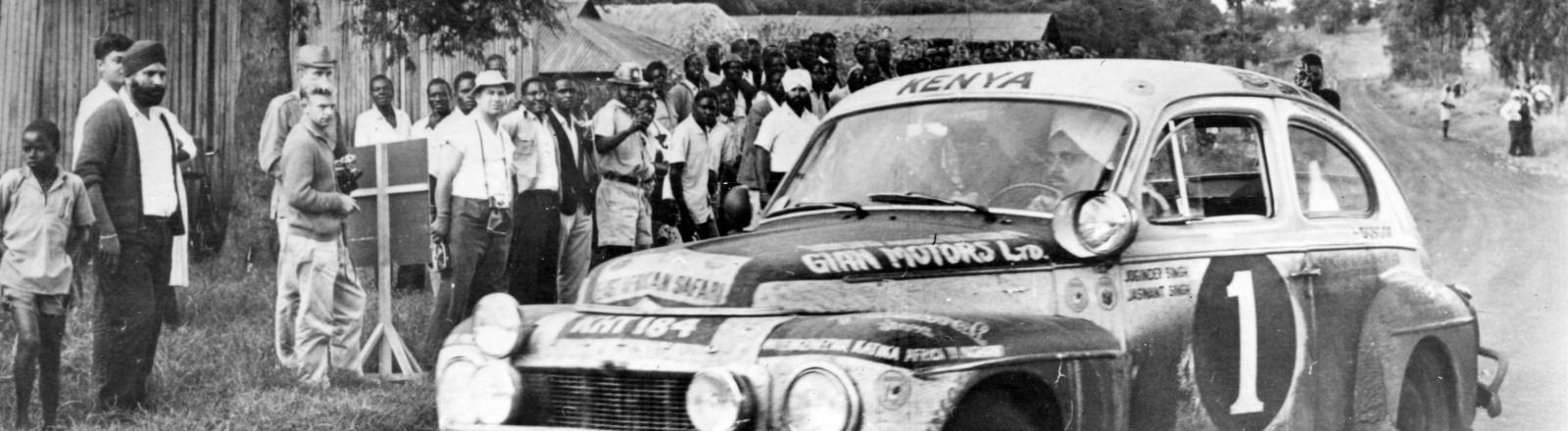 Volvo Katterug wint Safari Rally - in 1965