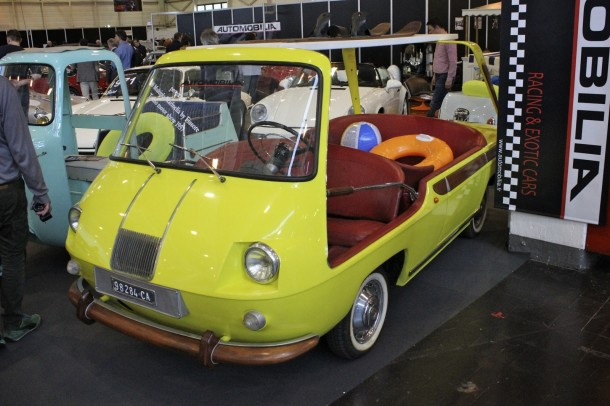 Techno Classica 2015 - Fiat Multipla beach buggy