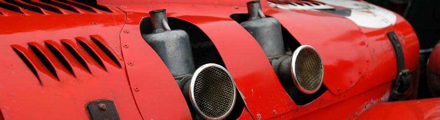 SU carburateurs op MG TD Special