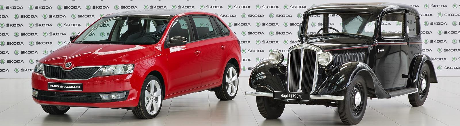Skoda Rapid 500000 maal gebouwd