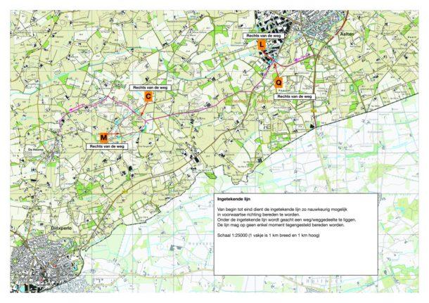 kaartleestraject 01 Aalten - De Heurne - ORGANISATIE